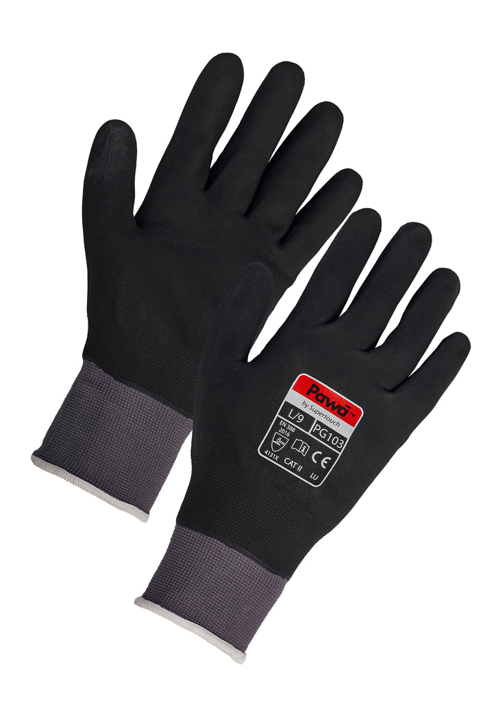 Waterproof Work Gloves Pawa PG103 - Worklayers.co.uk