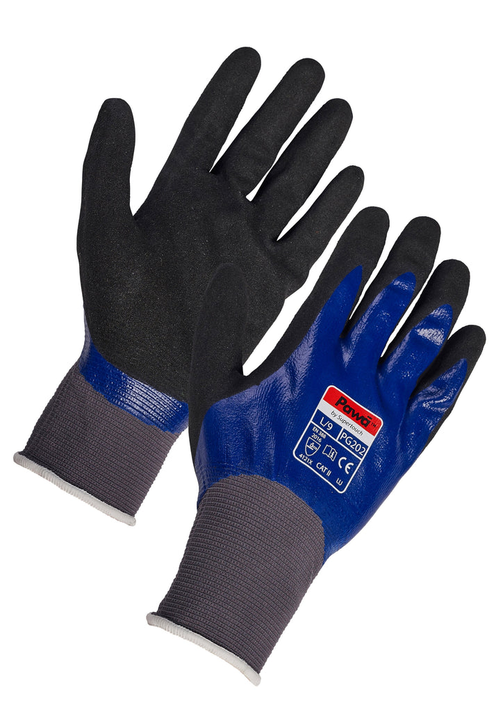 Waterproof Work Gloves Pawa PG202 - Worklayers.co.uk