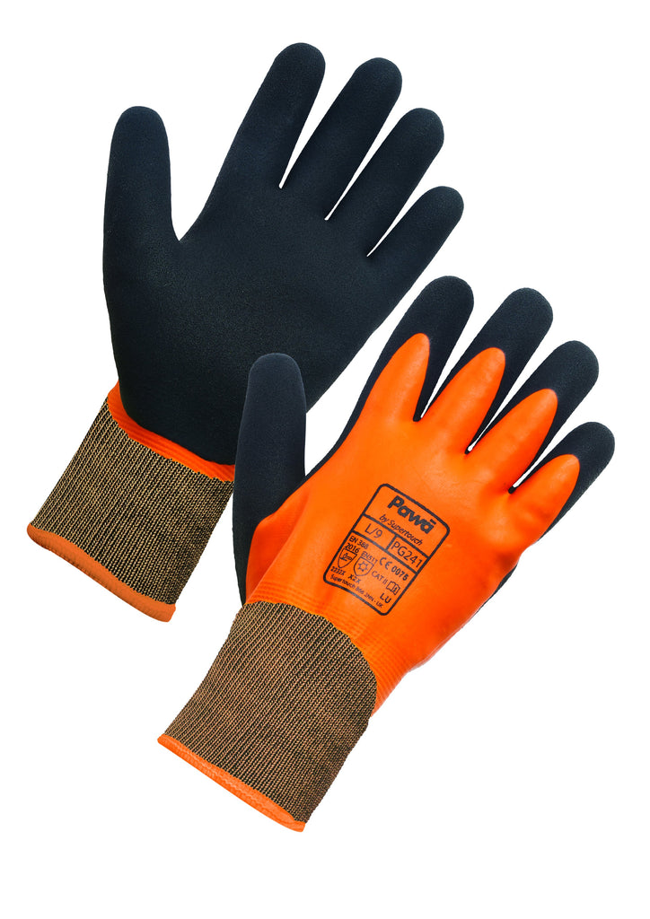Thermal Waterproof Gloves For Work Pawa PG241 - Worklayers.co.uk