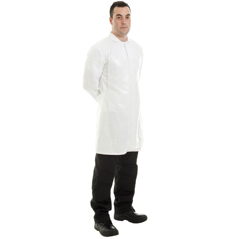 White disposable aprons from Worklayers