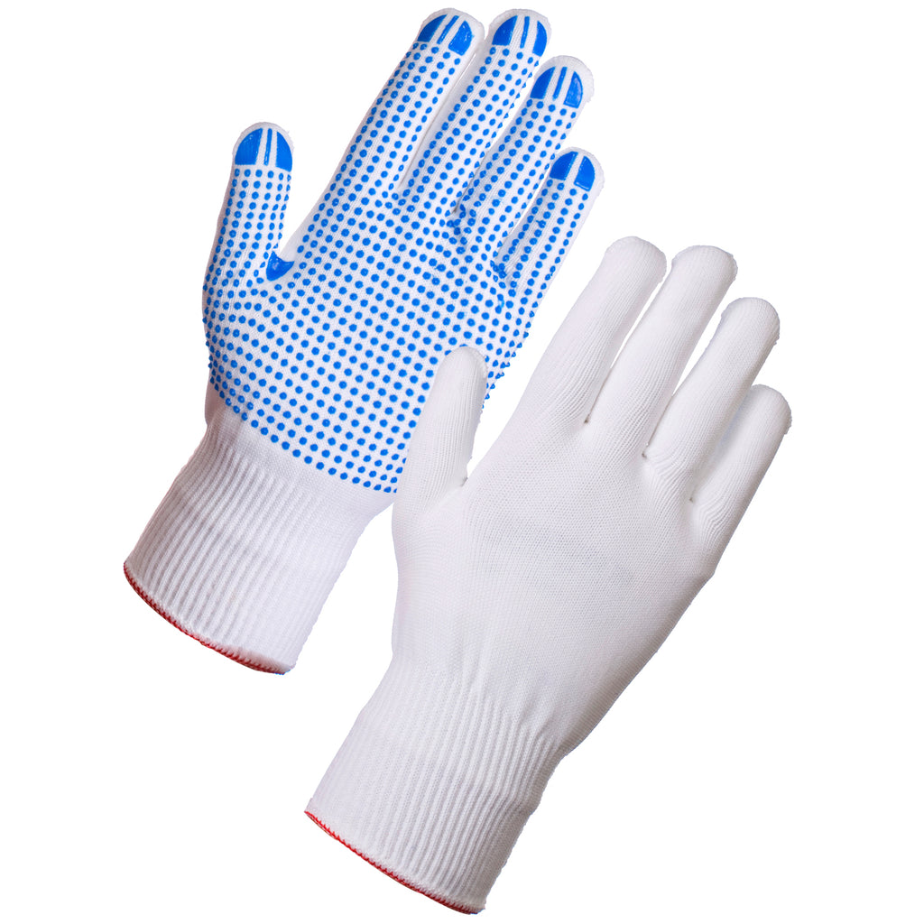 Work Gloves with Grip Dots - Worklayers.co.uk