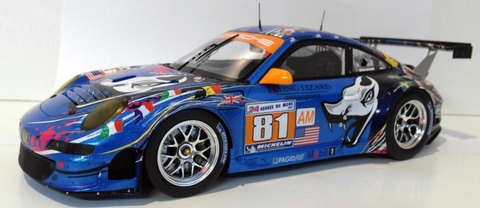2011 Le Mans #81 Art Car Model (large)
