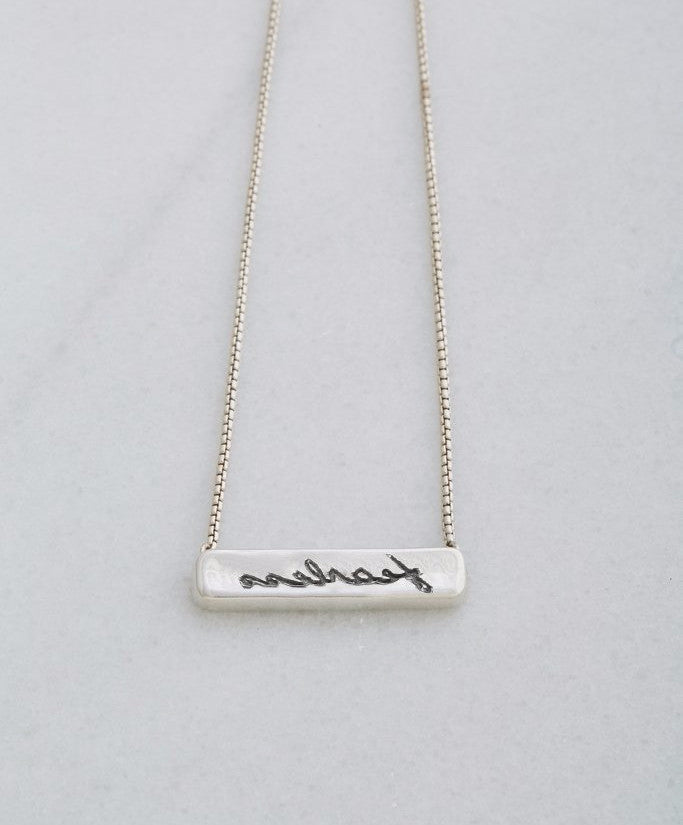 "Reflections ""Fearless"" Pendant and Chain"