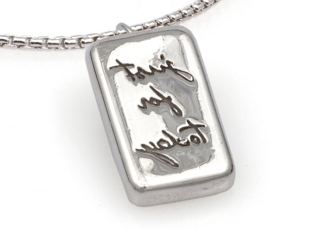 "Reflections ""Just For Today"" Pendant and Chain - Fearless Inventory"