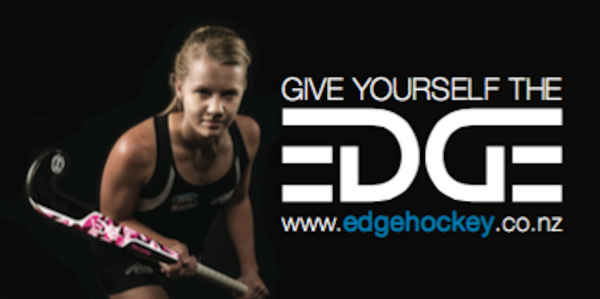 Edge international field hockey sticks. NZ Black Stick Kirsten Pearce.