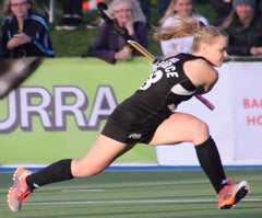 Black Stick Kirsten Pearce. Hockey Players fit, fast & elite athletes