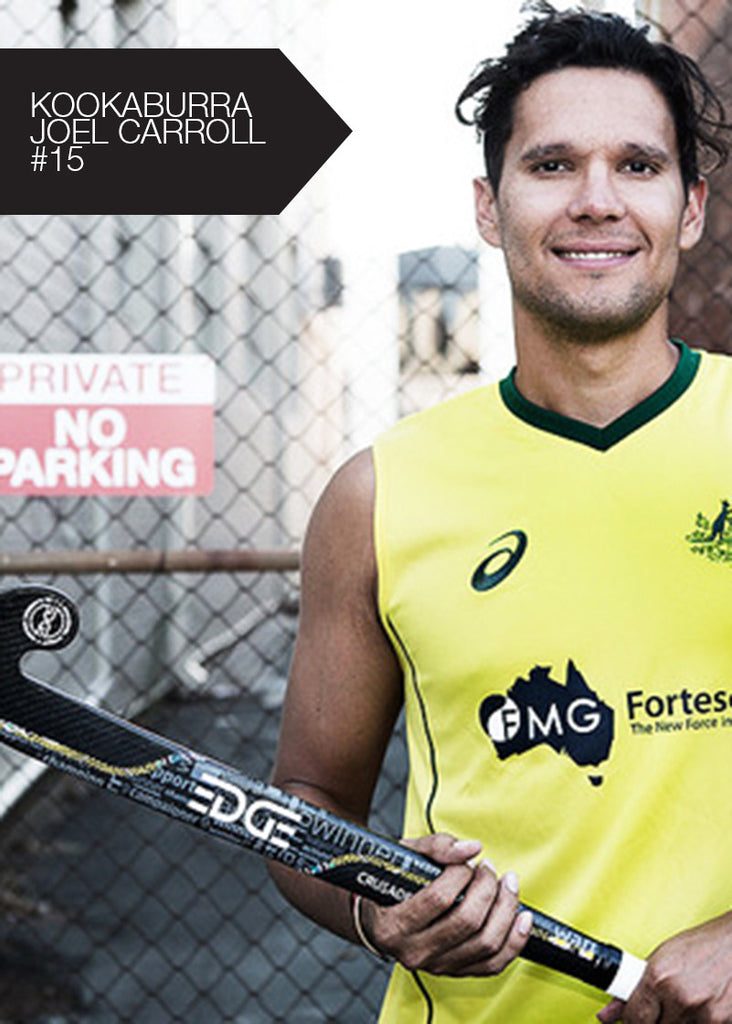 EDGE Crusader Hockey Stick - Joel Carroll Kookaburra Australian International