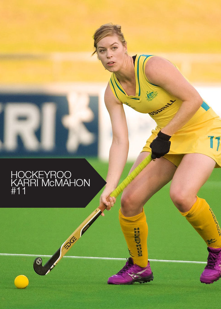 EDGE Dancer Hockey Stick - Karri McMahon Australia Hockeyroo