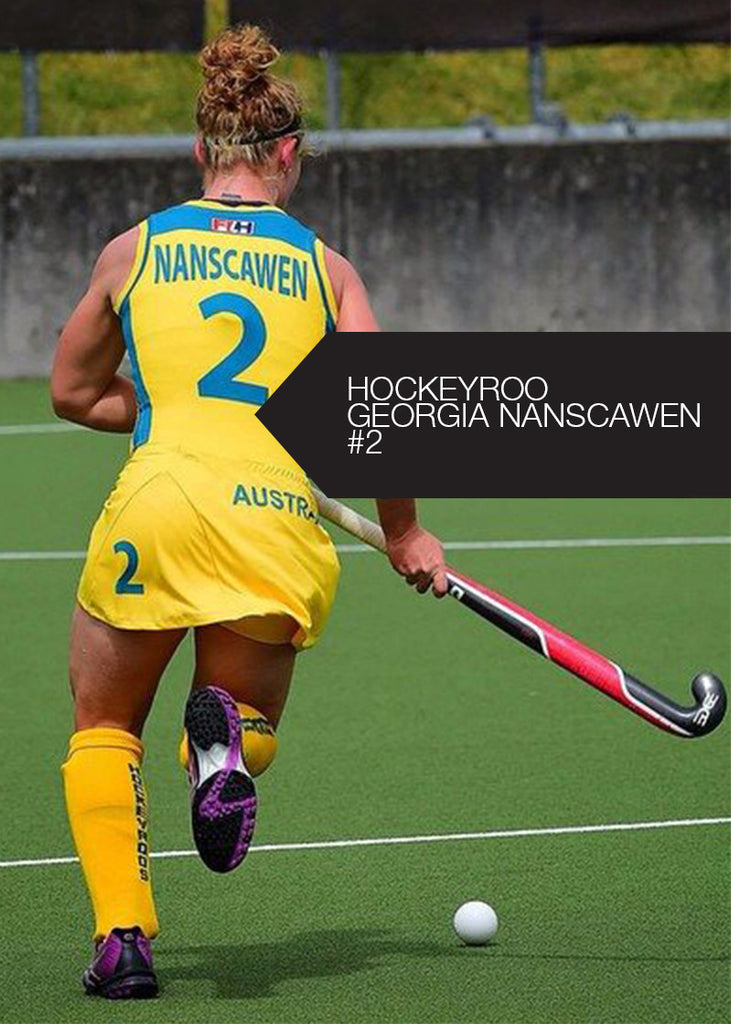 EDGE Icon Hockey Stick Georgia Nanscawen Australia Hockeyroos