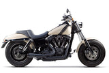 Dyna 2006-2017 2-1 Stainless Exhaust Black