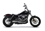 Dyna 2006-2017 2-1 POLISHED Stainless Exhaust