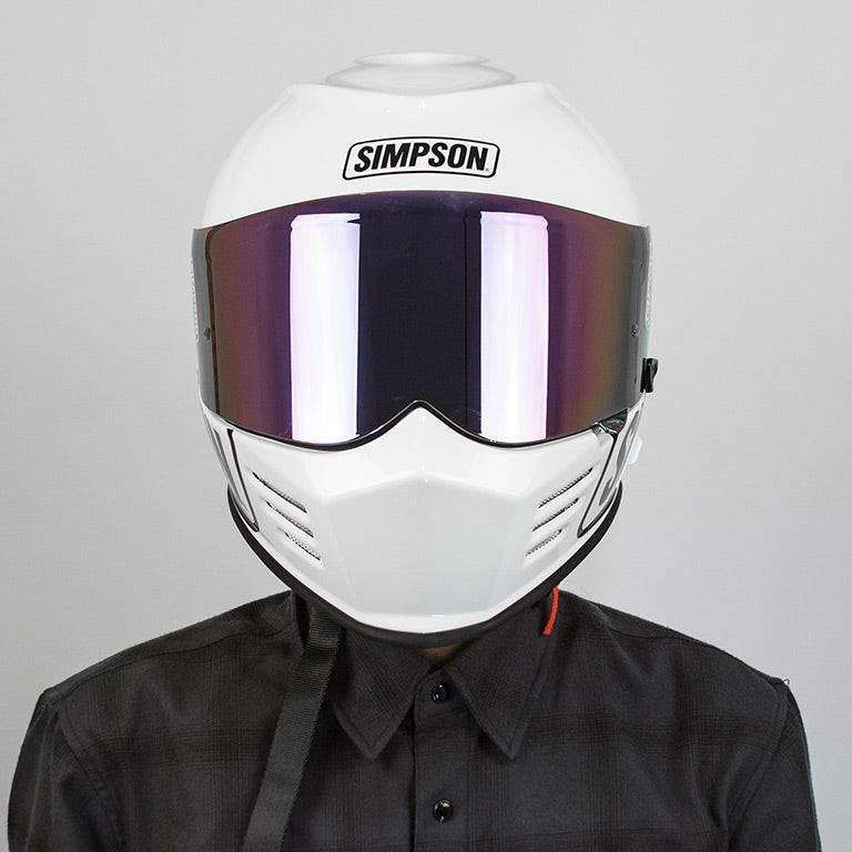 Limited Edition Ghost Bandit Logo Helmet - White