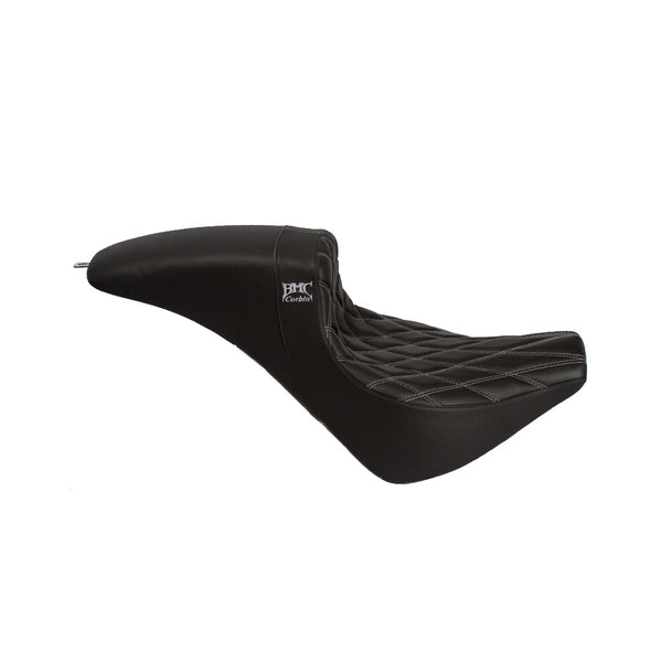 Softail 18' Wall Seat - Black/Grey Stitch