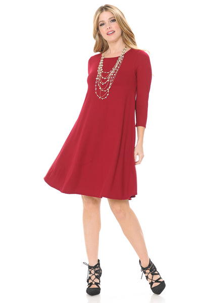Trapeze Swing Dress