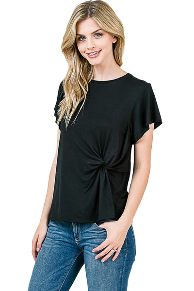 Liara Front Knot Top