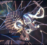 Chain in smallest rear cog