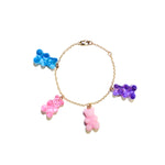 Gummy Bear Charm Bracelet - Berry