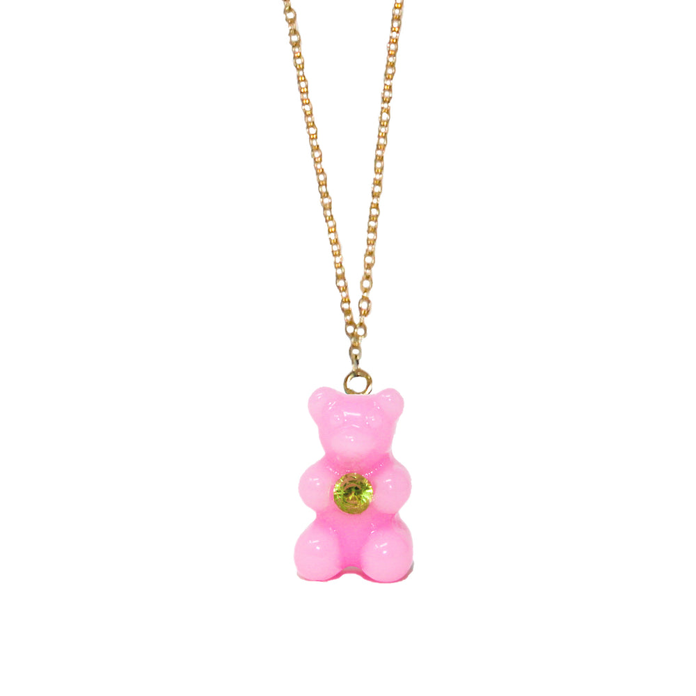 Gummy Bear Necklace with Peridot