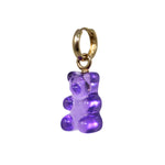 Gummy Bear Huggie Earring- Purple