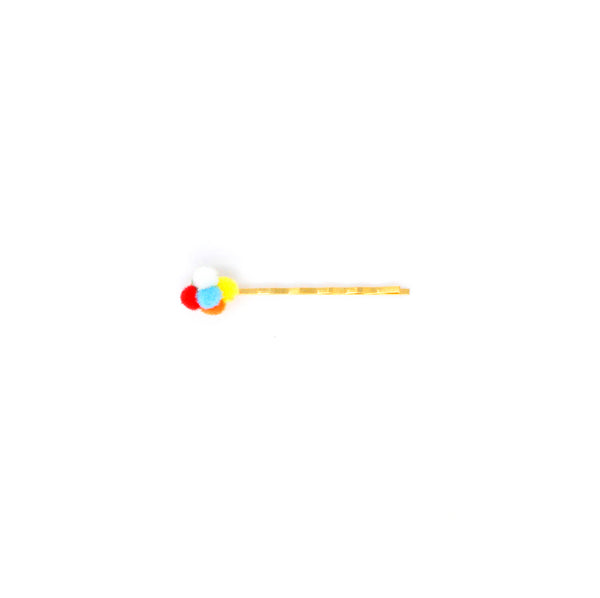 Rainbow bobby pin