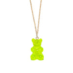 Gummy Bear Necklace- Green