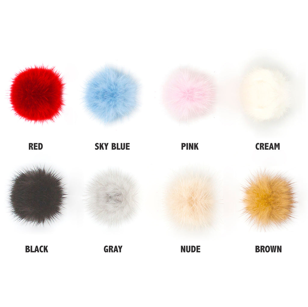 Mink bobby pin (more colors)