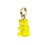 Gummy Bear Huggie Earring- Yellow