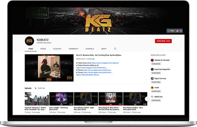 KGBeatz YouTube Upload