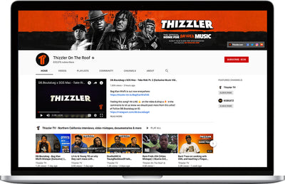 Thizzler YouTube Upload