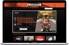 Thizzler.com Takeover / Cover Story Interview Placement + #TeamThizzler Twitter Promo