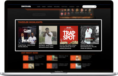 Thizzler.com Highlight Placement + #TeamThizzler Twitter Promo