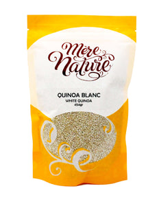 Quinoa blanc-Grains entiers-Mère Nature