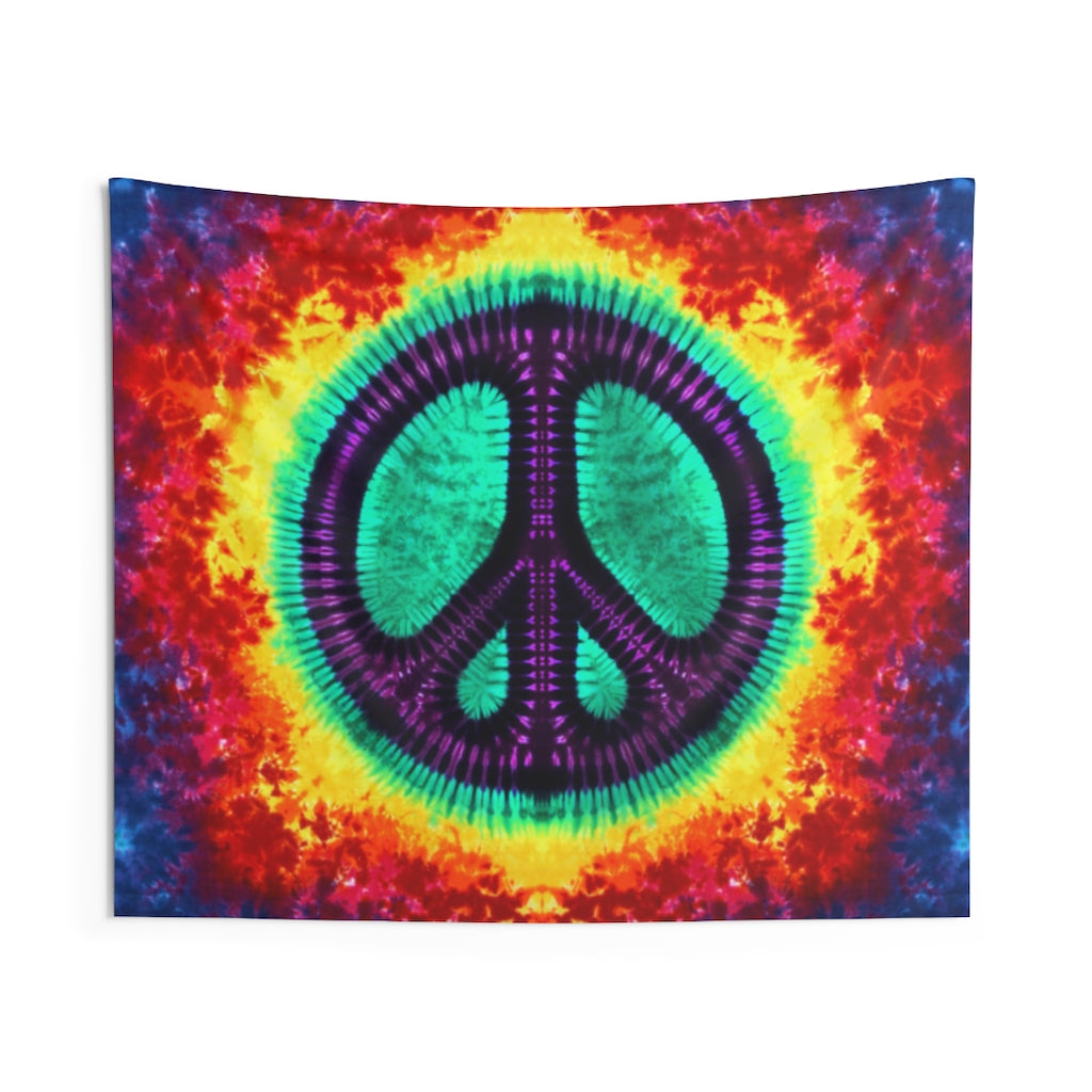 Purple Peace Tapestry