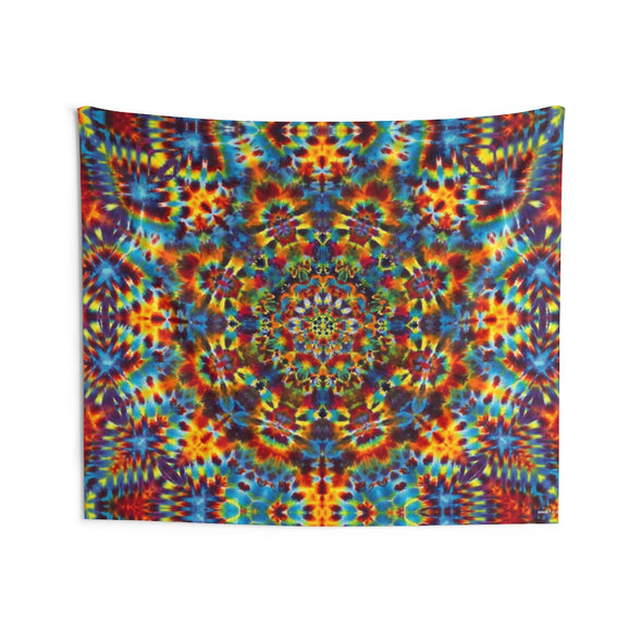 Psychedelic Picnic Tapestry