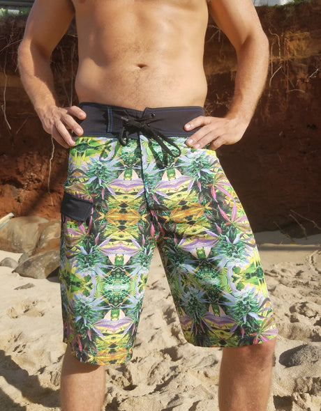 Tropical Ganja Boardshorts