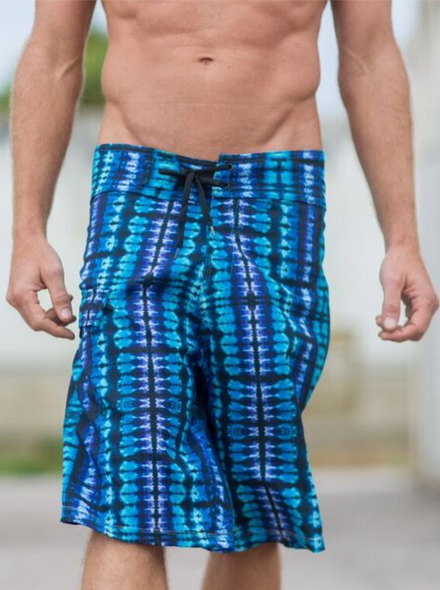 Electric Blue Full Spectrum Boardshorts