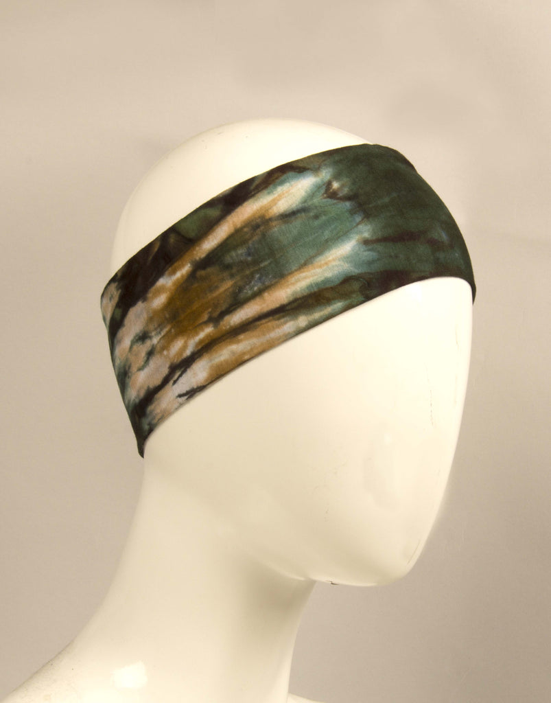 Tie-Dye Headband - Safari