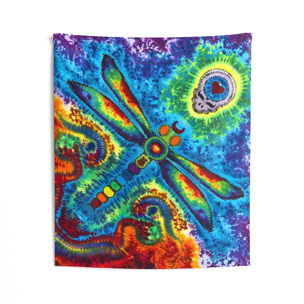 Stealie Dragonfly Tapestry