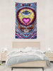 Eye Heart Stealie Tapestry - 3'x5'