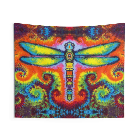 Dragonfly Love Tapestry