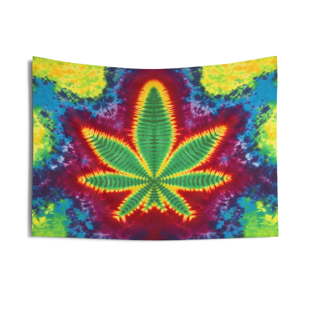 Rainbow Leaf 2 Tapestry