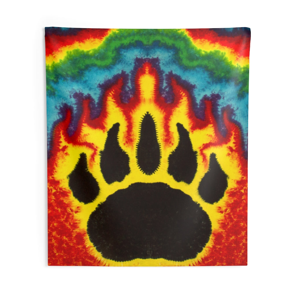 Bear Paw Tapestry