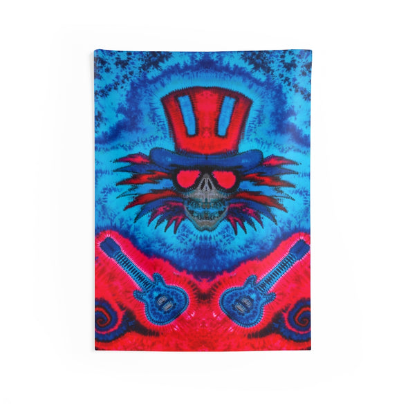 Uncle Sam's Guitars Tapestry