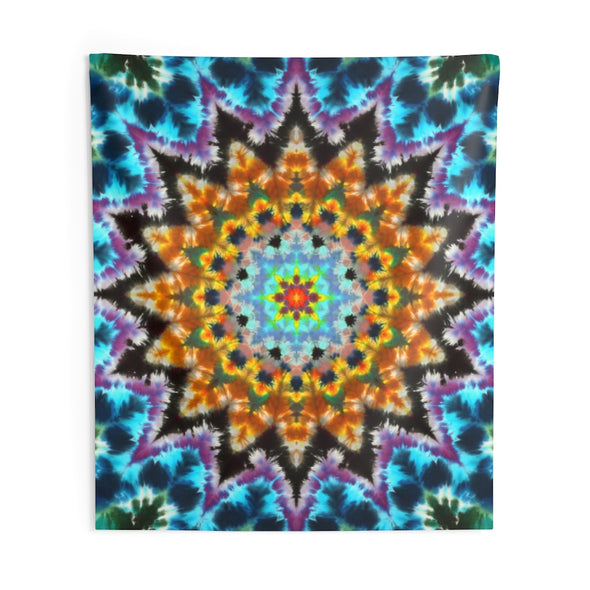 Water Star Tapestry