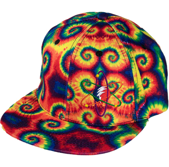 Rainbow Spiral Flex Fitted Hat