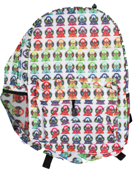 Rainbow Pyramids Backpack