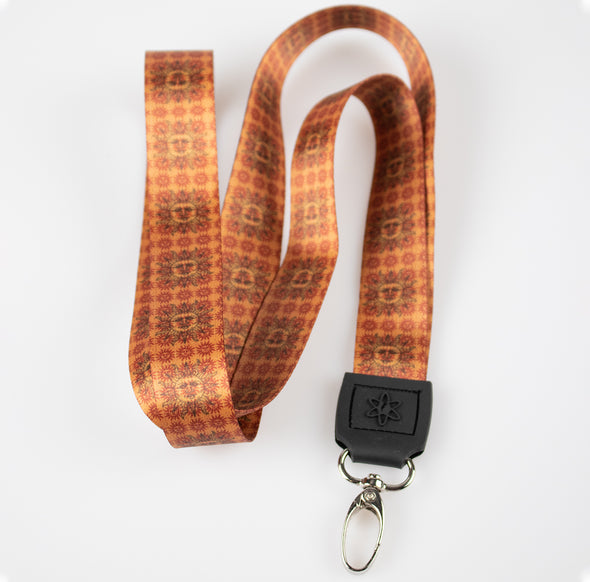 Orange Sunshine Lanyard