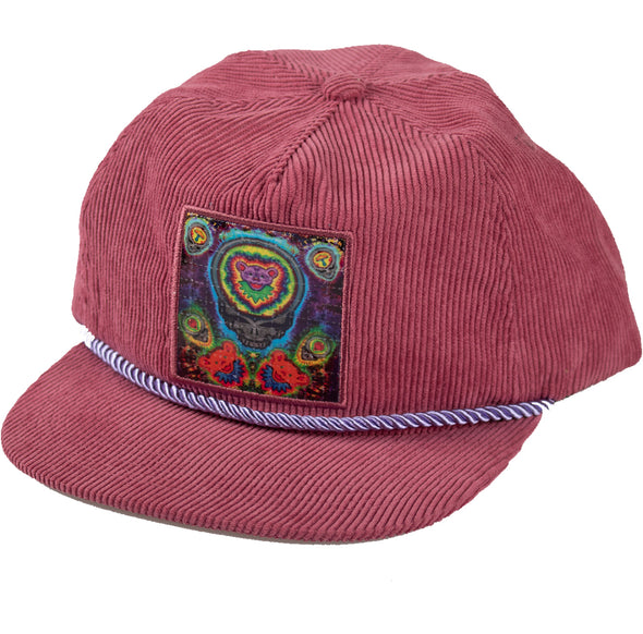 L.S.D. Corduroy Snap Back - Electric Stealie