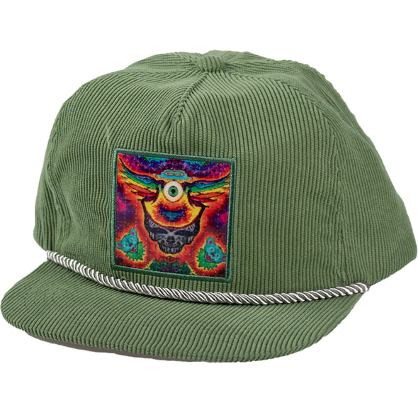 L.S.D. Corduroy Snap Back - Frying Eyeball
