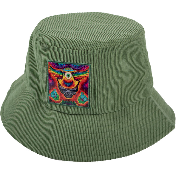 L.S.D. Blotter Bucket Hat - Frying Eyeball